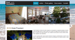 Preview of hotelpresidentcervia.it