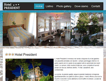 Tablet Preview of hotelpresidentcervia.it